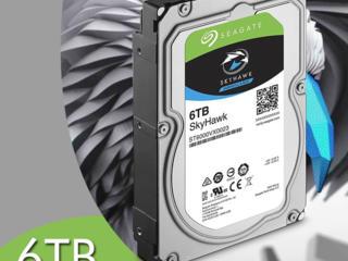 HDD Seagate SkyHawk, pentru servere si supraveghere video. Ieftin.