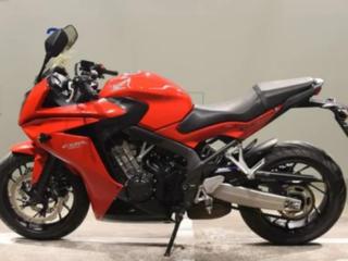 HONDA CBR650F 5500$
