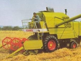 Комбайн зерноуборочный Claas Merсator 75