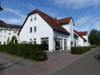 На курорте Германии - уютное кафе с пекарней