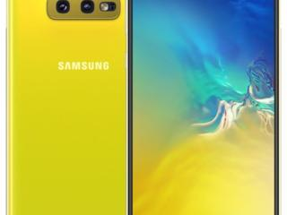 Смартфон Samsung Galaxy S10e (SM-G970F) 6/128GB DUAL SIM YELLOW