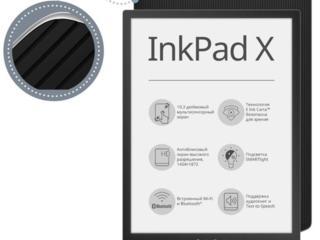 Электронная книга PocketBook X, Metallic grey