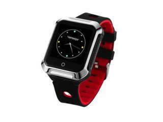 Телефон-часы с GPS трекером GOGPS М02 черные