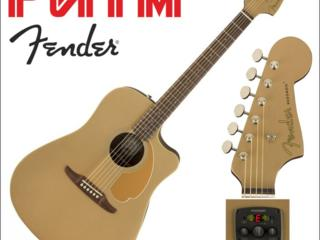 Гитара электроакустика Fender Redondo Player Bronze Satin