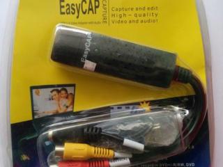 USB карта видеозахвата EasyCap для оцифровки видеокассет