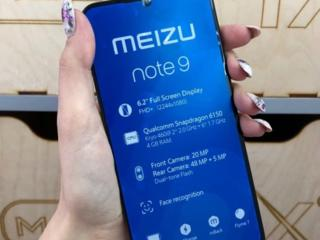 Meizu Note 9 4/64 4/128 Black НОВЫЙ!