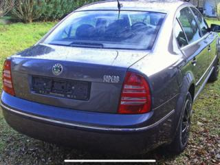 Крышка багажника на шкоду суперб (2001- 2008).