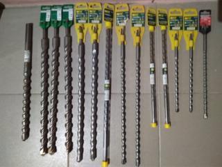 Продам дешево новые: буры для перфор; диски по метал 230 DEXTER; корщетки