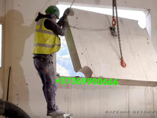Бельцы. Разрушение железобетона бетоновырубка резка бетона снос домов