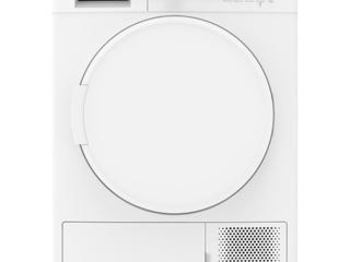 Sharp KD-GCB8S7PW9-EE, Uscator de rufe, 8Kg, Condensare, alb. Preț nou:
