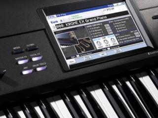 Korg KROME-88.Piano. Пианино. Korg/Синтезатор/Ionica
