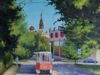 """Продаётся картина Климова О. В. """"На Потёмгинской. г. Николаев"""""""