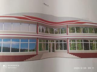 Продам двухэтажное здание (49% готовности) в центре Тирасполя.