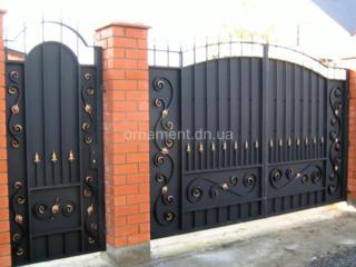 ООО Шанстал изготовит под заказ ворота, калитку, двери и др.