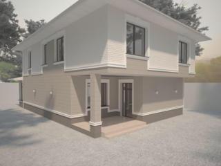 Fatada caselor Фасад домов