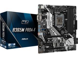 ASRock B365M PRO4-F Intel B365 DDR4 mATX