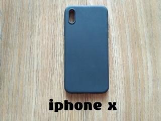 Чехол на iPhone Х чёрный