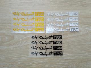 Наклейка на ручки, диски, зеркала 13.2 см светоотражающая