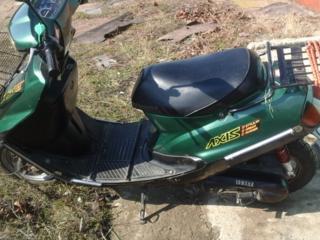Продам мопед Yamaha Axis темно-зеленого цвета. В хорошем состоянии.