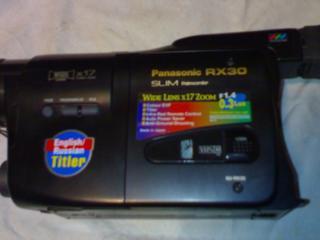 """Продам видеокамеру плёночную """"Panasonic RX-30"""" в отличном состоянии."""