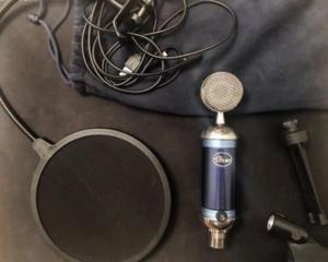 Blue Spark Digital студийный микрофон высокого качества.