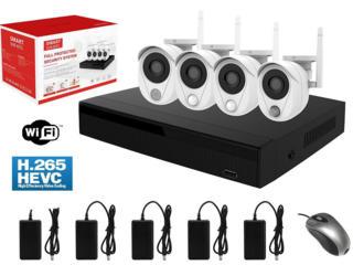 Умный беспроводной комплект видеонаблюдения на 4 камеры Longse Smart-W