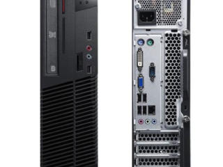 LENOVO ThinkCentre M72e, Cel. G550,4Gb, 500Gb, Windows 7 Pro, SFF