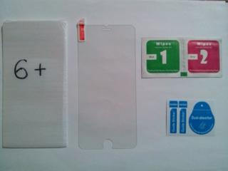 Закалённое стекло на iphone 6+ (ПЛЮС)