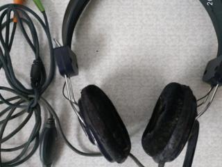 Наушники MANTA с микрофоном и регулятором громкости