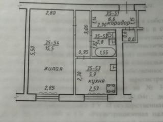 Ленинский 1-к кв-ра 7000 $ (торг!! ), возможен обмен на 2-комнатную