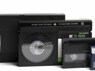 Перезапись с видеокассет VHS, VHS-compact, miniDV, 8, Hi8, Digit. 8, HD