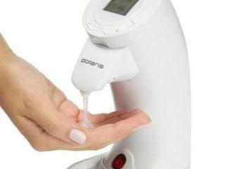 Сенсорный дозатор мыла Polaris PSD 2010B с дисплеем.