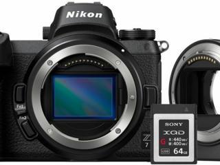Nikon Z 7 / FTZ Adapter Kit / 64GB XQD / VOA010K007 /