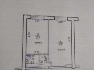 Продам 2-комнатную
