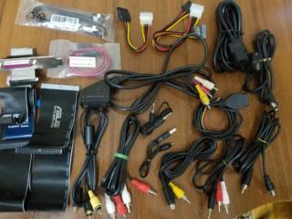 Переходники, кабели, шлейфы и блоки питания