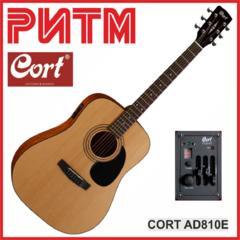 """Электроакустическая гитара CORT AD810E NS в М. М. """"РИТМ"""""""