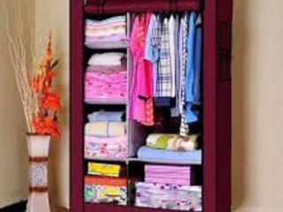 Комоды, полки для обуви, тканевые шкафы, напольные вешалки и проч.