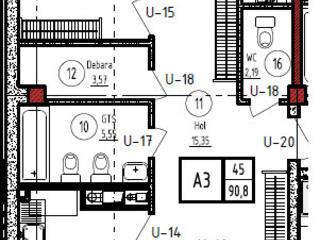 Apartament direct de la stăpîn - Schema corespunde apartamentului 100%