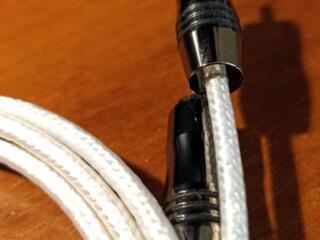 Межблочный кабель RCA-RCA двойное моно
