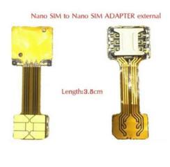 Адаптер 2 Sim + microSD для гибридного слота смартфонов.
