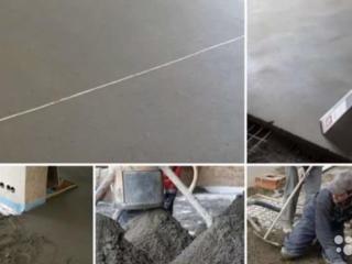 Демонтаж старых бетоных полов заливка нового пола гидроизоляция стяжки