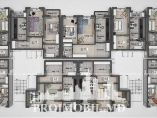 """Spre vânzare apartament cu 2 camere în complexul rezidențial """"Liv"""