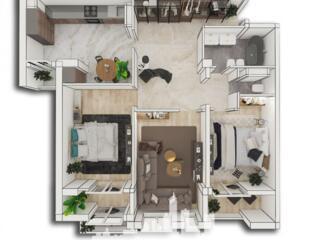 Spre vânzare apartament cu 3 camere modernă amplasată pe str. Alba .