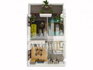 Vă prezentăm un apartament cu 2camere și suprafața de 58 mp, ...