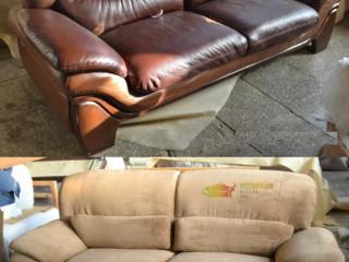 Обивка и ремонт мягкой мебели - диванов, кресел и др.