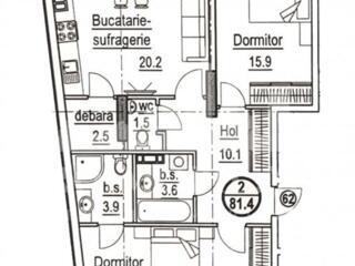 Spre vânzare apartament cu 2 camere în Complexul locativ din str. ...