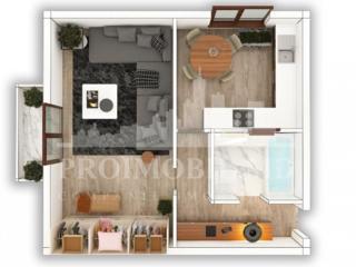În vânzare- apartament pe sect. Telecentru, str. Docuceaev. ...