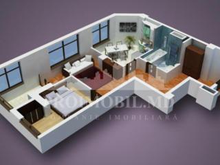 Vă oferim spre vânzare un apartament cu 2 camere, poziționat în ...