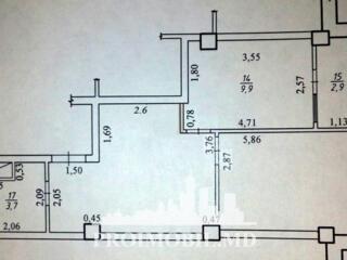 Vă propunem acest apartament cu 1cameră, sectorul Rîșcani,str. T. ..