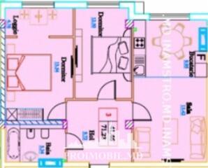 Spre vânzare apartament situat în sec. Ciocana, str. Mircea cel ...